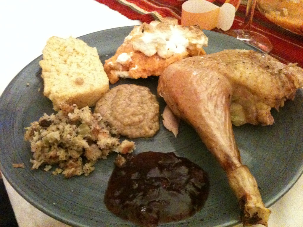 Menu typique thankgsgiving