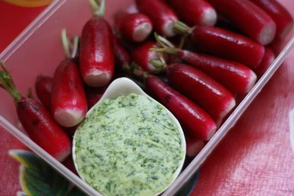 Une recette de radis à emmener en pic-nique !