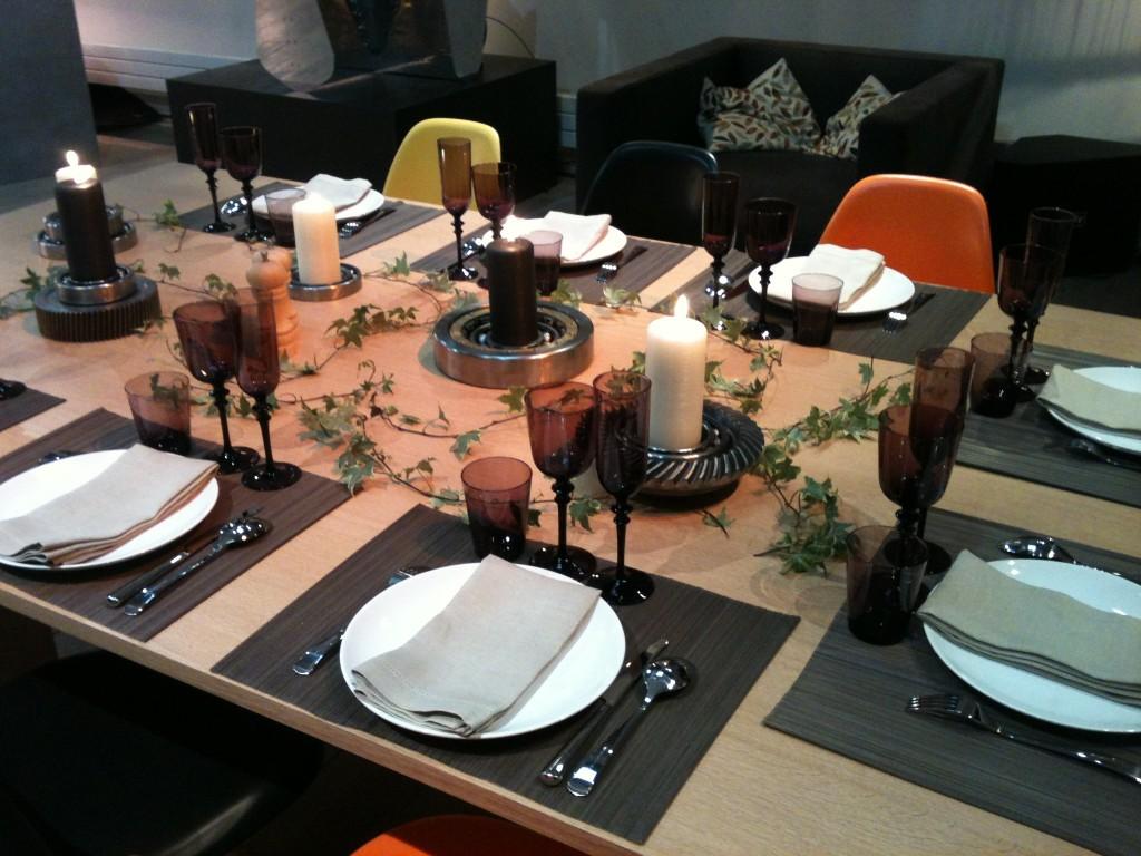 Table dressée pour le concours Samsung Nouvelles Invitations