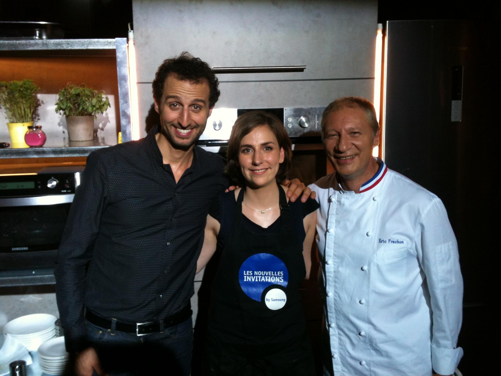 Arié Elalmaleh et Eric Fréchon concours samsung nouvelles invitations