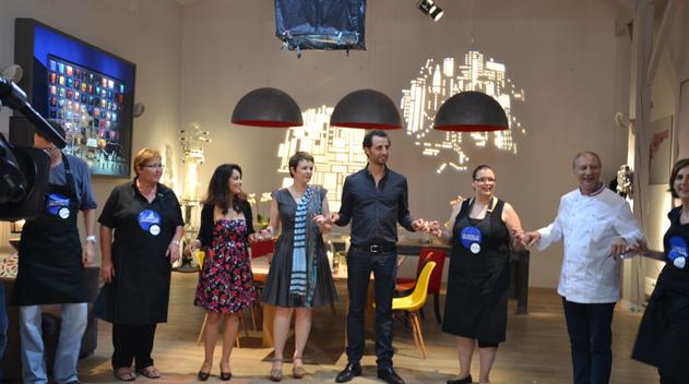 Arié Elmaleh et Jonathan Lambert  concours Samsung Nouvelles invitations