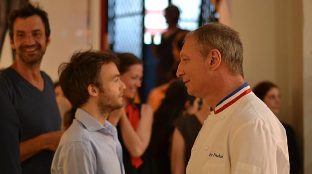 Eric Fréchon et Jonathan Lambert  concours Samsung Nouvelles invitations