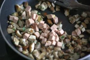 Recette Masterchef Farce aux cèpes et au foie gras