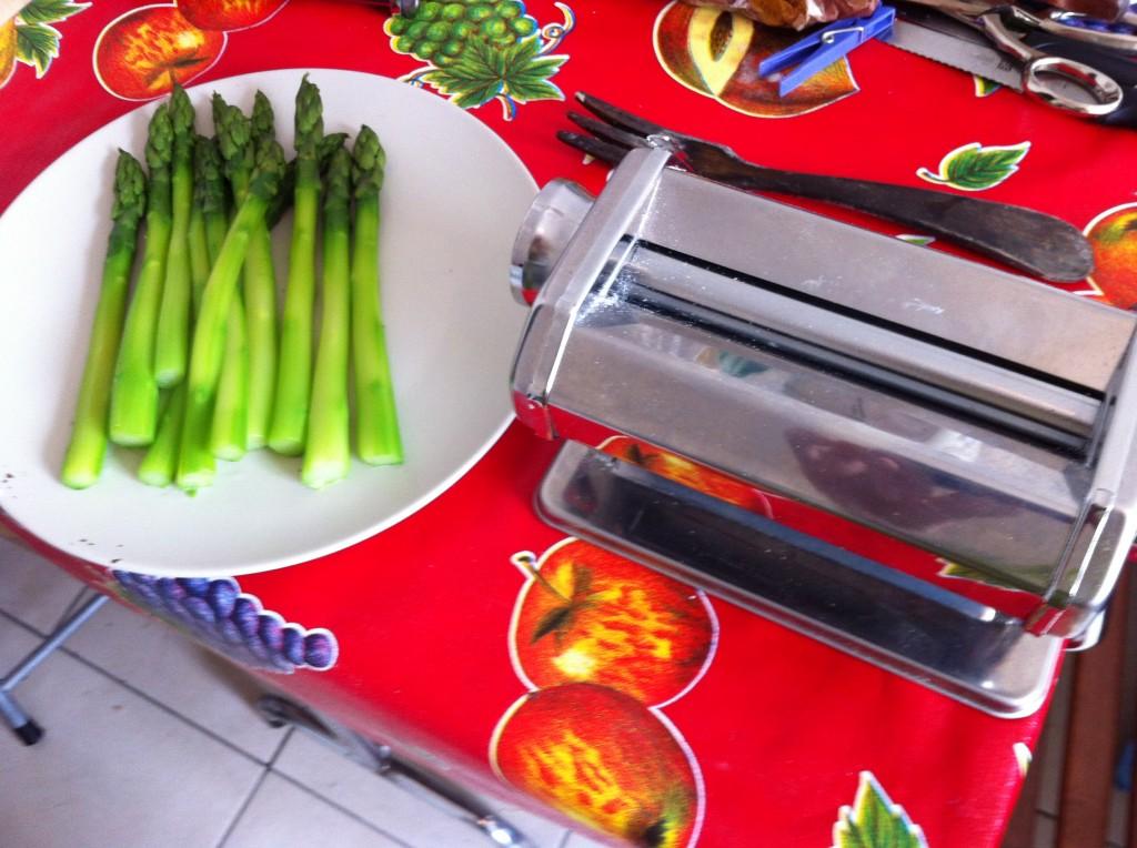 Préparation de la Recette Masterchef : Ravioles au jaune d'oeuf