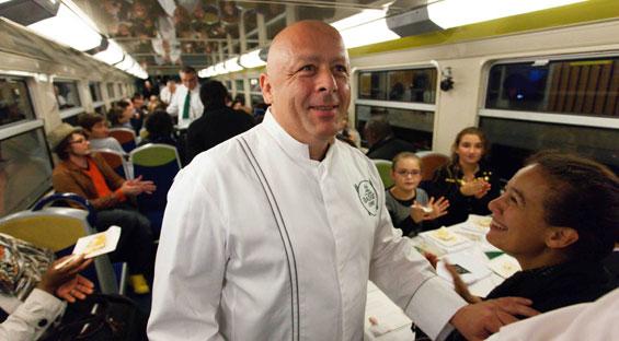 La vie secr te des grands chefs thierry marx - Restaurant thierry marx cuisine moleculaire ...