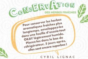 Conservation des herbes