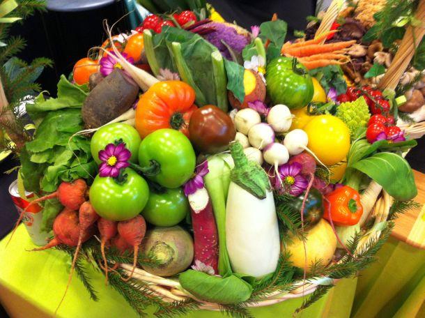 Les légumes de la maison Butet au salon Cuisinez by M6