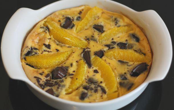 recette de dessert chocolat et orange