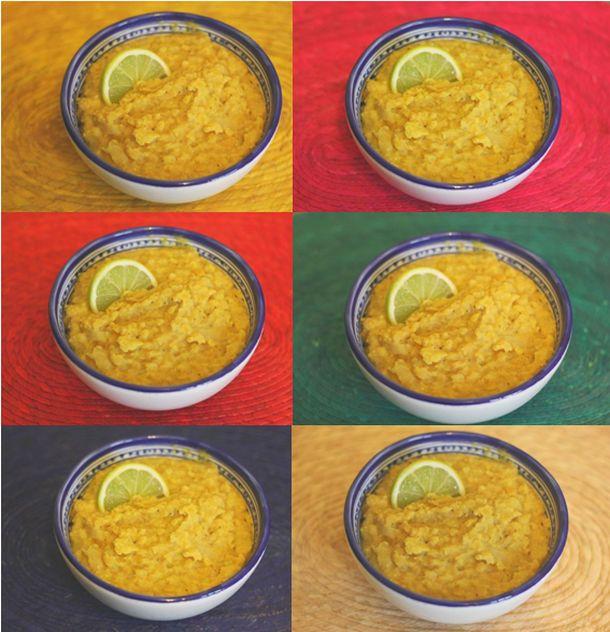 recette de cuisine indienne : plat de lentille