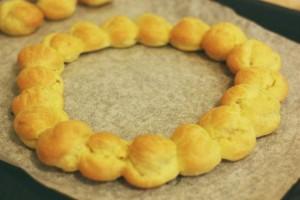 Couronne de Pâte à choux recette blog de cuisine