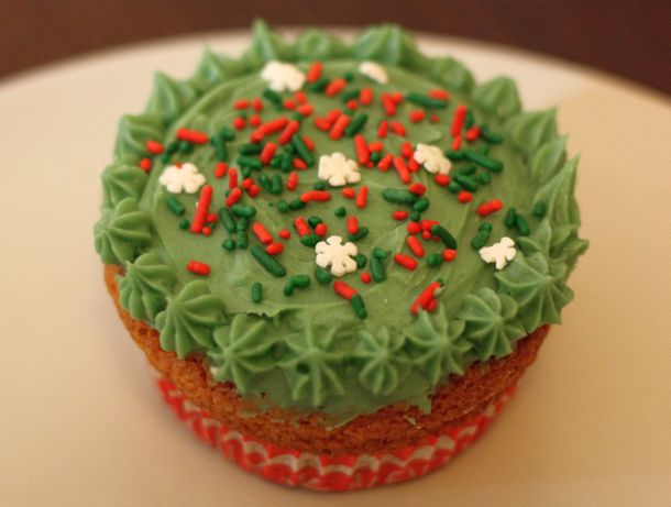 Cupcake Forêt de Sapin Blog de cuisine Over-cookée