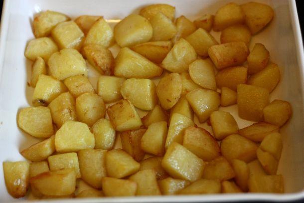 recette de pomme de terre sautées