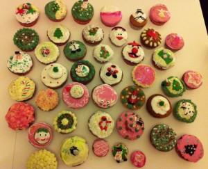 Tous les cupcakes de l'atelier