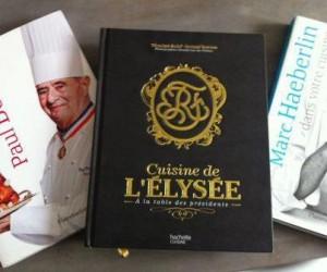 livre de cuisine l'Elysée