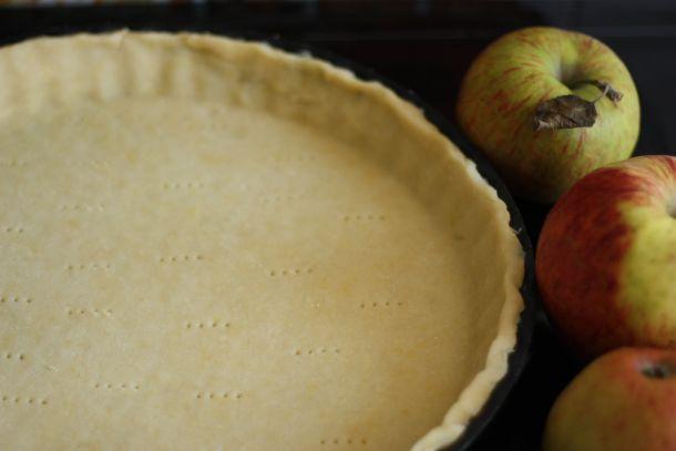 pâte brisée tarte aux pommes