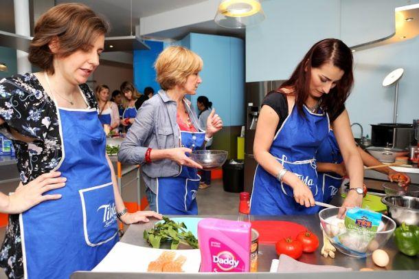 blogueuses cuisine au travail