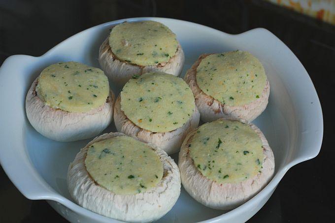 Champignons avant cuisson