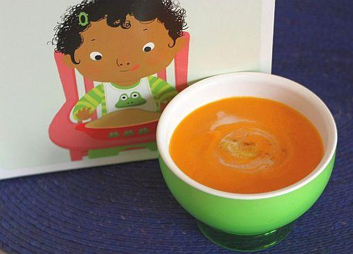 variantes soupes de légumes bébé