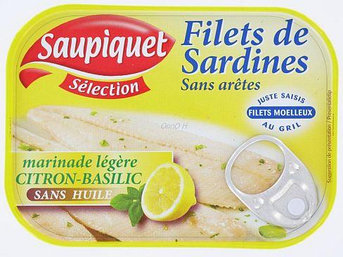 sardines bébé